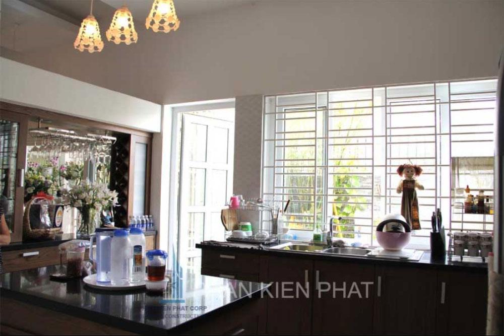 Phòng bếp và phòng ăn góc view 3