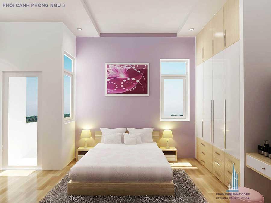 Thiết kế biệt thự hiện đại - Phòng ngủ 3 góc 2