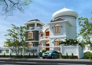 - European style villa