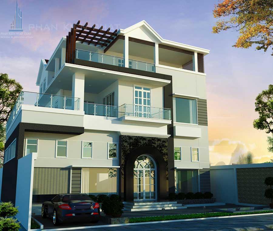 biet-thu-pho, biet-thu-hien-dai - Biệt thự hiện đại tại Quận 7