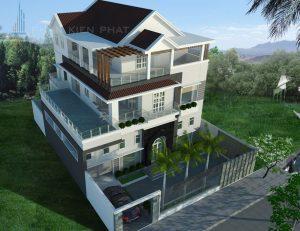 - Modern villa at District 7