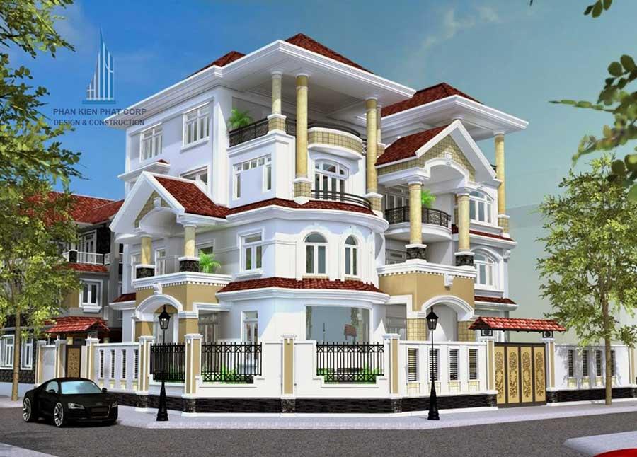biet-thu-pho, biet-thu-hien-dai - Biệt thự 3 tầng tại Sa Đéc Đồng Tháp
