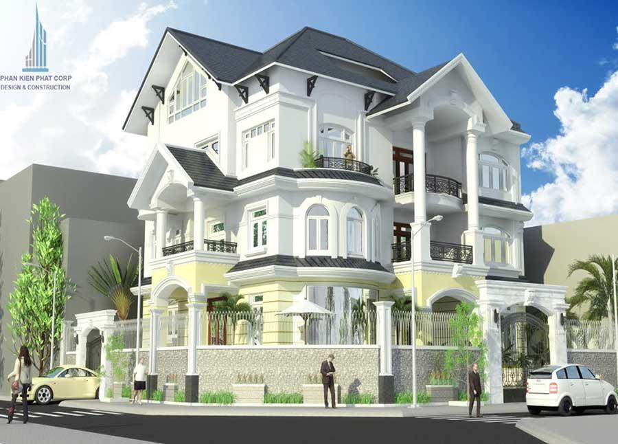 Công trình, Thiết kế xây dựng biệt thự, Anh Huỳnh Công Nhật