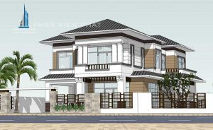 - Two-floor Modern and Classic mixing style Villa