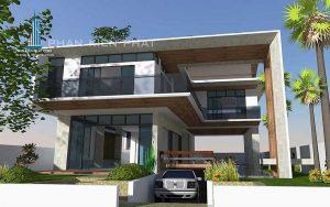 - Two-floor Modern Villa with basement