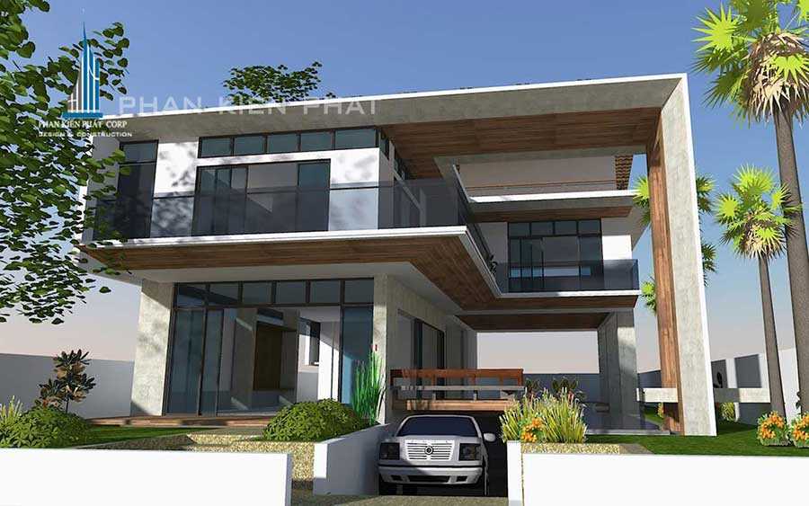 - Two-floor Modern Villa with basement