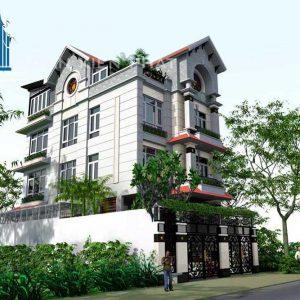 Biệt thự bán cổ điển tại Bình Phước