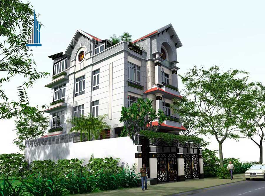 - Modern and classic mixing style Villa at BinhPhuoc