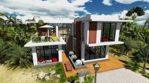 - Villa with garden at Binh Chanh