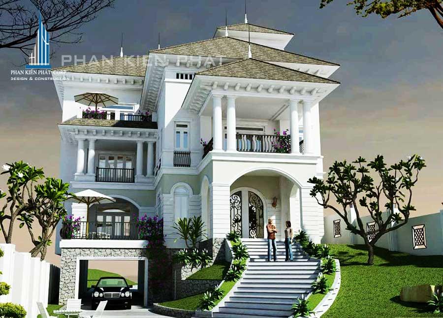 Công trình, Thiết kế xây dựng biệt thự, Anh Nguyễn Nam Long