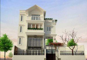 - Three-floor Villa at BinhThanh district