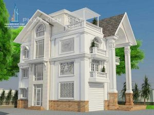 - Three-floor Classical Villa at Binh Phuoc Province
