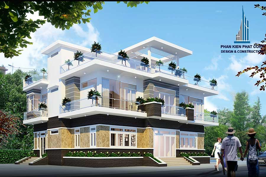 biet-thu-hien-dai - Mẫu biệt thự hiện đại tại An Giang