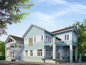 - Two-floor modern Villa