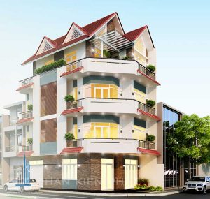 - Two front villa to live and do business