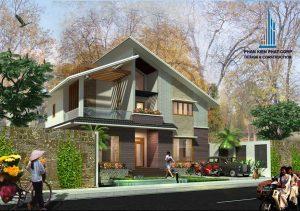 - Two floor Villa with garden