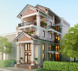 - Three-floor modern Villa