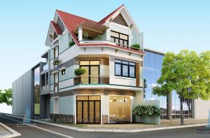 - 2 front Modern Villa at GoVap district