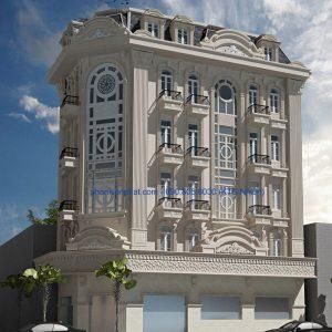 Biệt thự cổ điện kiểu Pháp