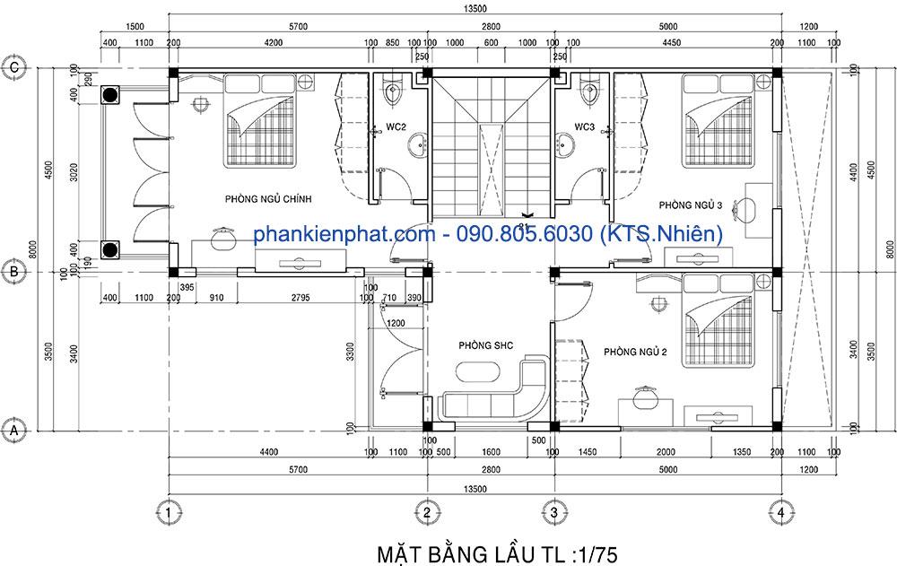 biet-thu-ban-co-dien - Biệt thự bán cổ điển 2 tầng