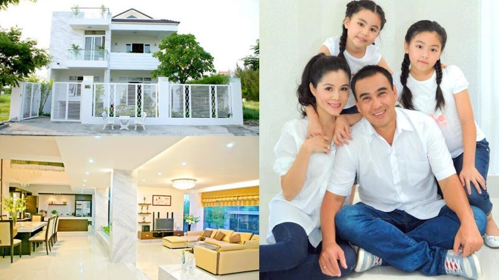 villas, topics - Garden villa of MC Quyen Linh