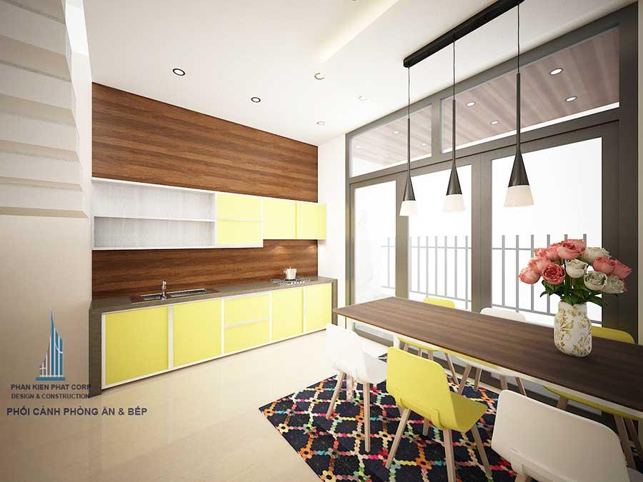 Thiết kế biệt thự 3 tầng - Bếp ăn góc 1