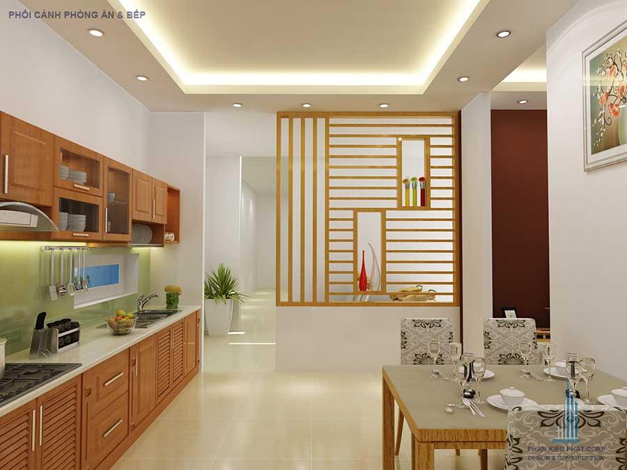 Thiết kế biệt thự - Bếp ăn góc 2