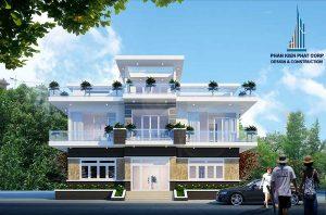 - Three - floor Modern Villa at An Giang