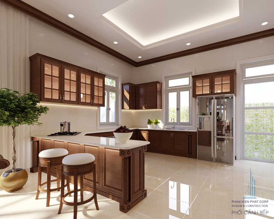 Thiết kế biệt thự - Phòng bếp