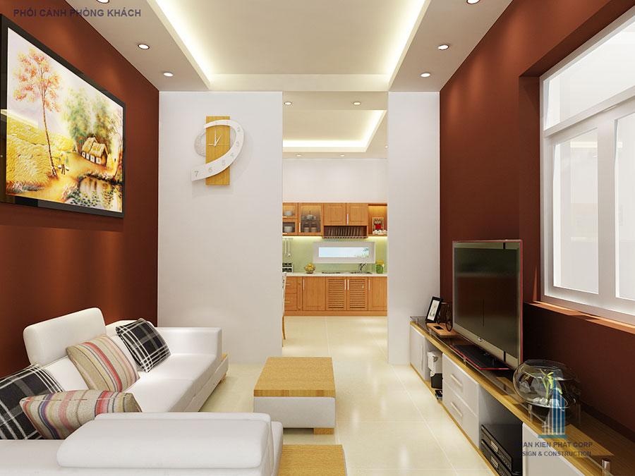 Thiết kế biệt thự - Phòng khách