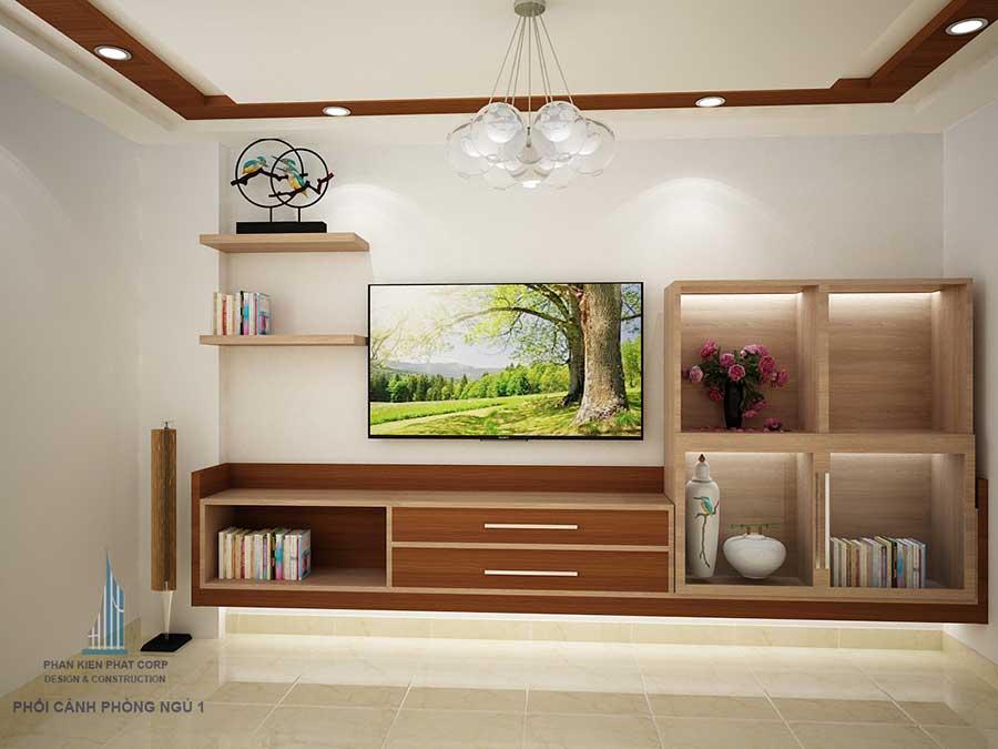 Biệt thự hiện đại - Phòng ngủ 1 góc 1