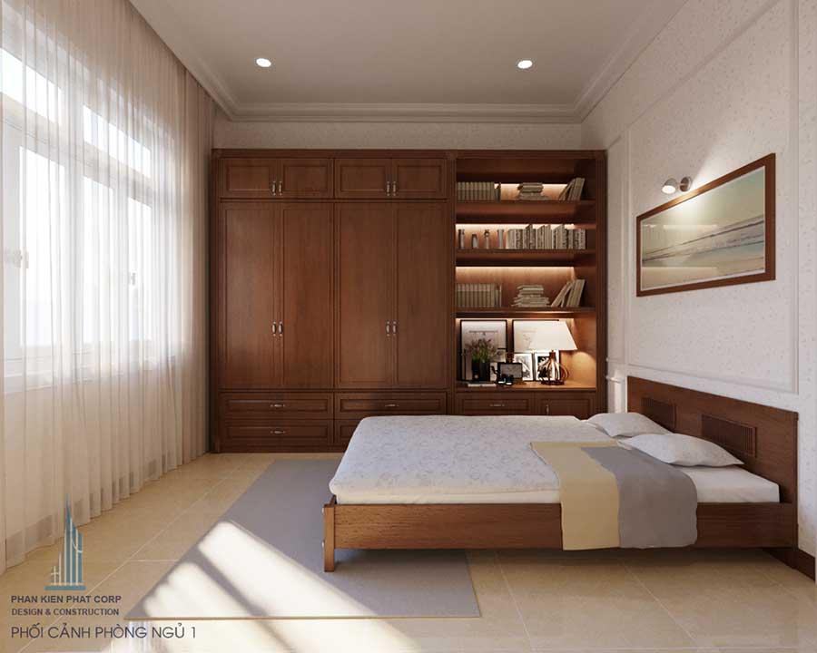 Biệt thự bán cổ điển - Phòng ngủ 1 góc 1