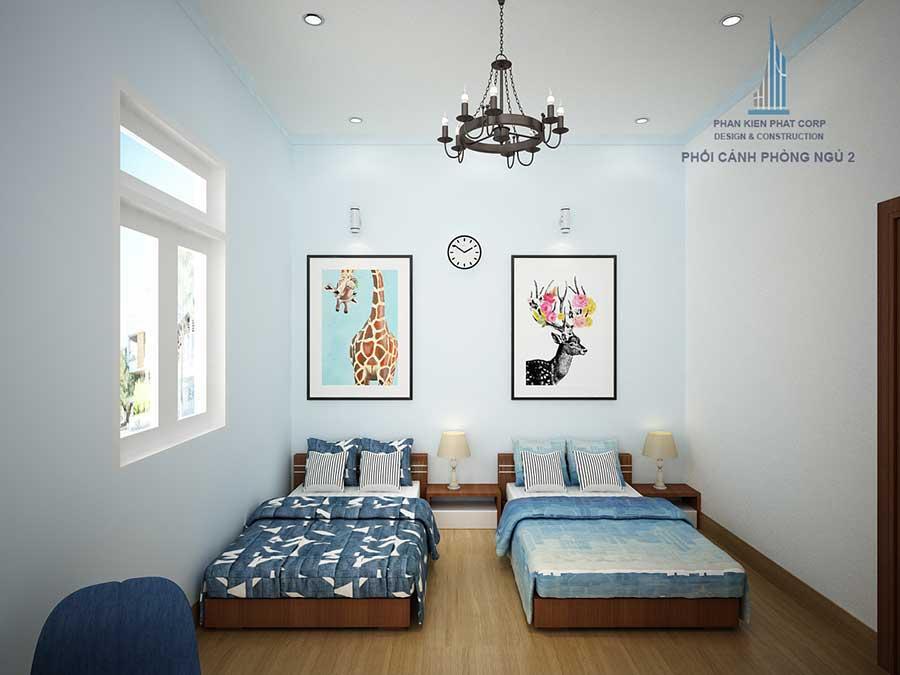 Thiết kế biệt thự - Phòng ngủ 2 góc 2
