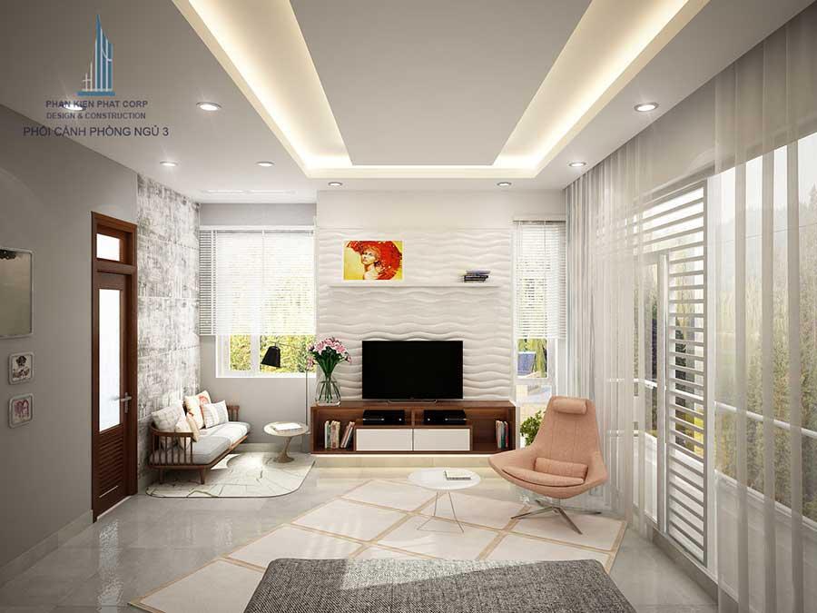 Biệt thự 3 tầng - Phòng ngủ 3