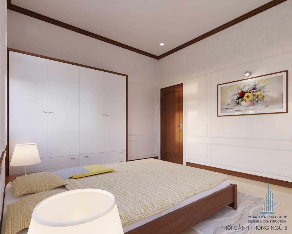 Phòng ngủ 3 góc 2 - biệt thự bán cổ điển
