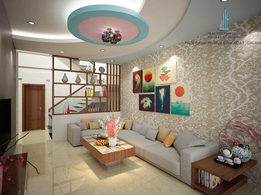 Thiết kế biệt thự - Phòng sinh hoạt chung