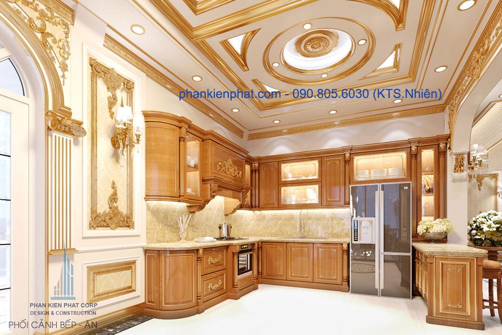 Phòng bếp + ăn view 2