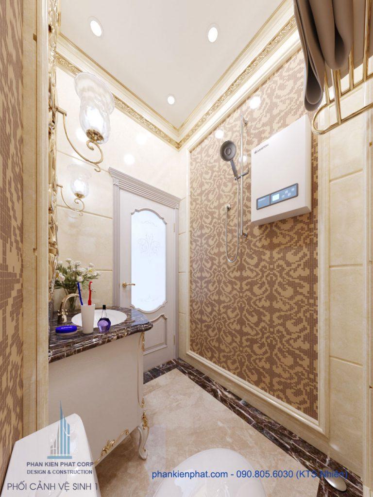 Phòng vệ sinh 1 view 1
