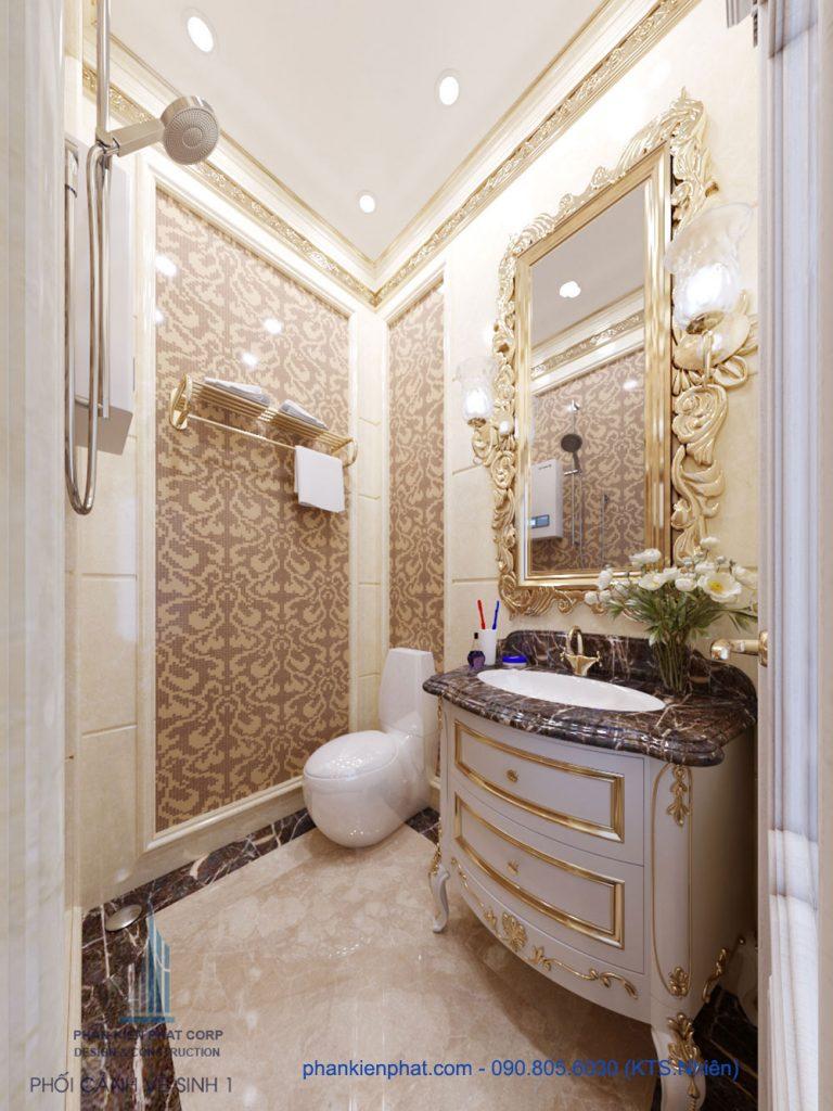 Phòng vệ sinh 1 view 2