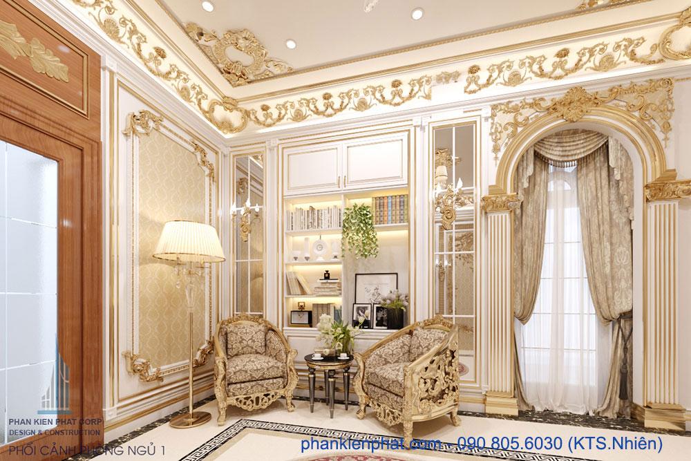 biet-thu-co-dien - Biệt thự cổ điển Hoàng Gia làm nhà hàng, phòng GYM