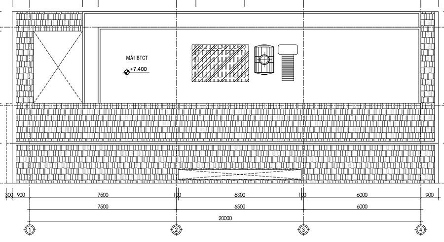 biet-thu-pho, biet-thu-hien-dai - Mẫu biệt thự hiện đại 8x20m tại Long An