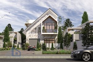 - Modern Villa 8x20m in Long An