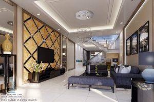 - Interior design in modern style