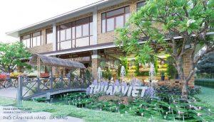 - Restaurant design three domain pure Vietnam in Da Nang