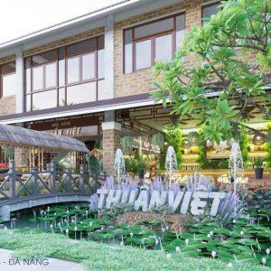 Thiết kế nhà hàng 3 miền Thuần Việt tại Đà Nẵng