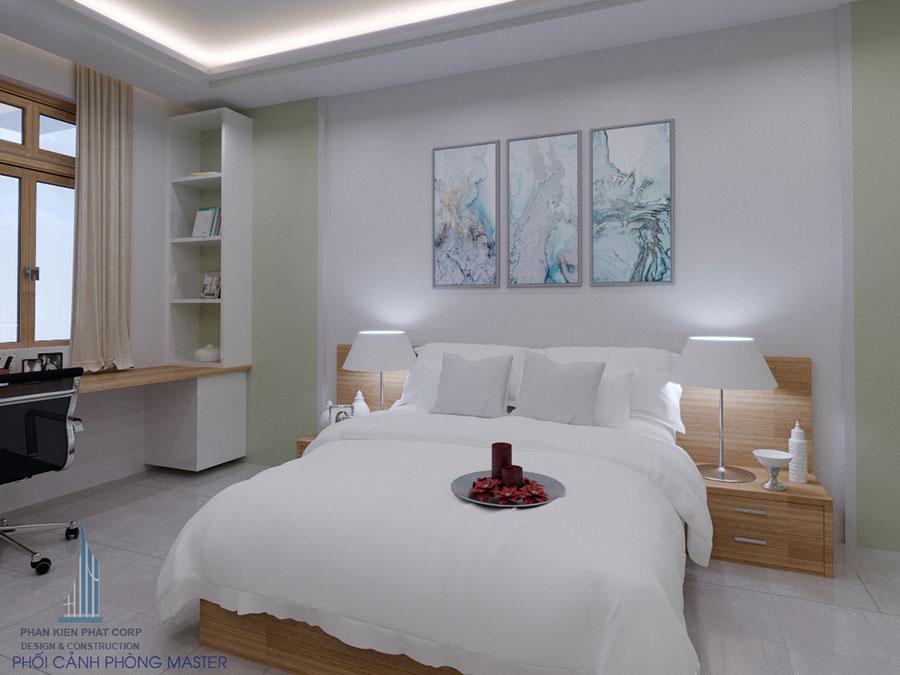 Thiết kế phòng ngủ hiện đại góc view 11