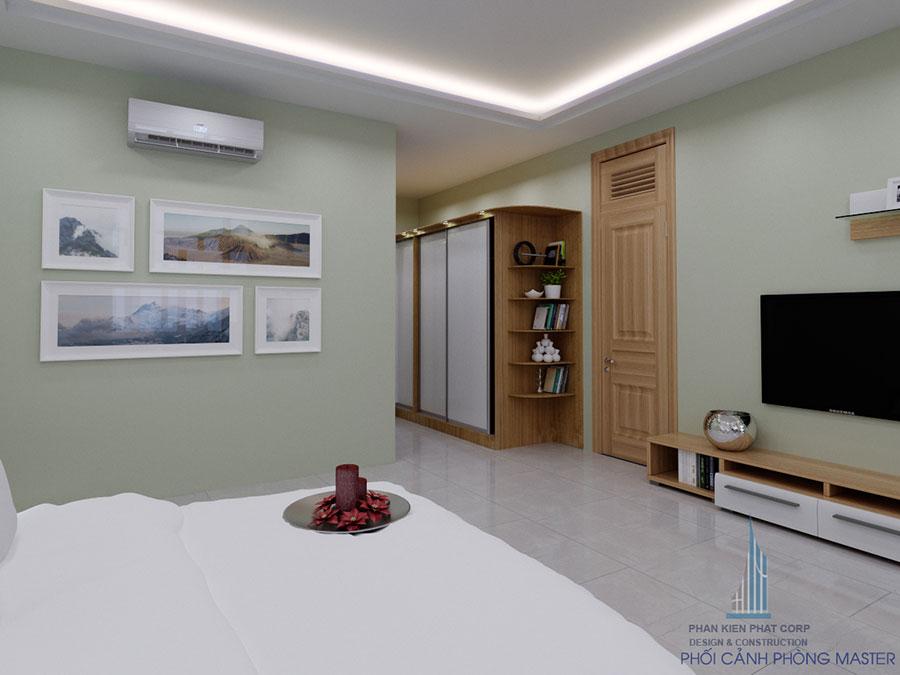 Thiết kế phòng ngủ hiện đại góc view 12