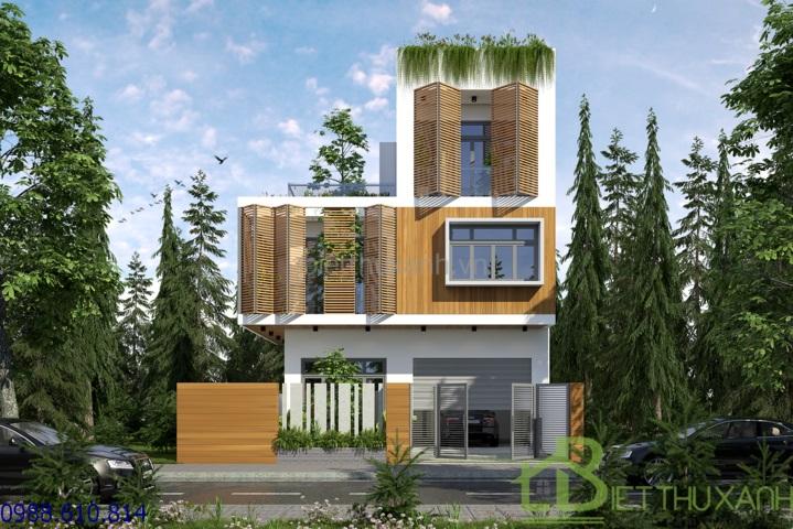 - 3-storey villa 8x12m form Ben Tre