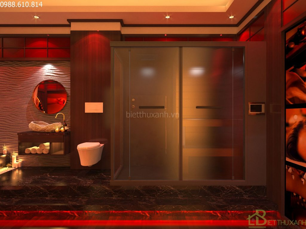 Design VIP massage room 02