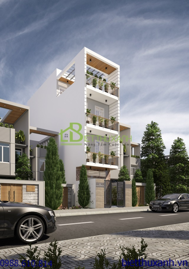 nha-pho - Nhà phố 4 tầng 4.2 x 20 m